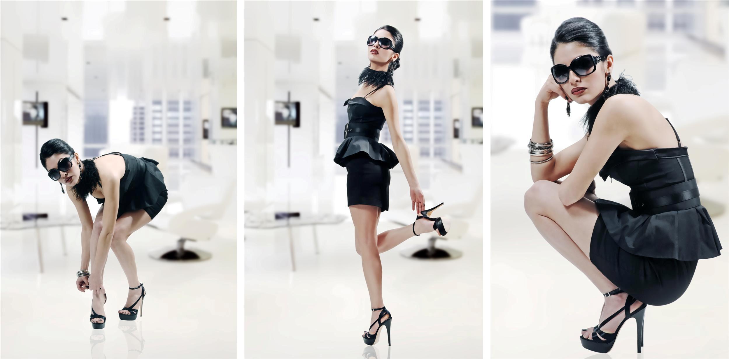 Фотографируем моделей одежды