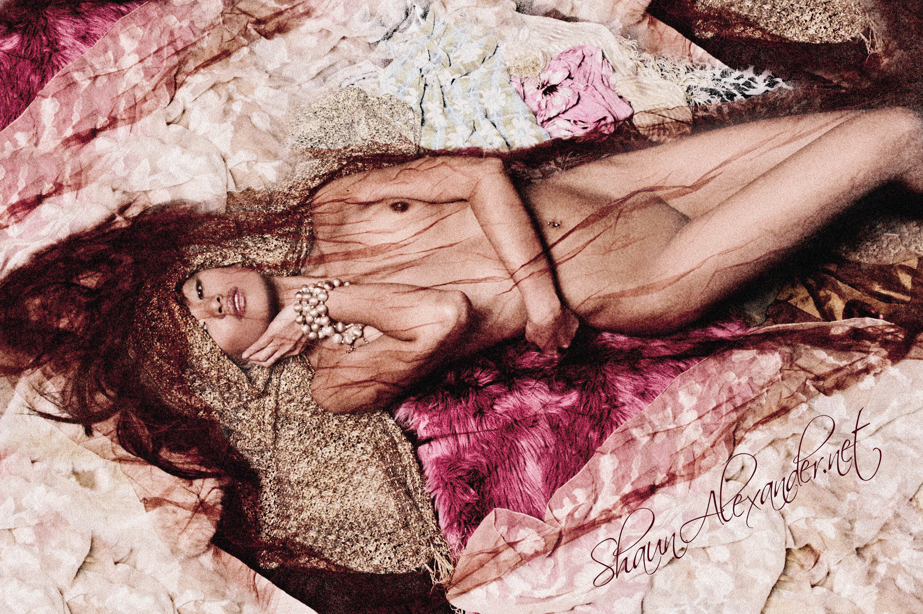Artistic nude photos of Asian model